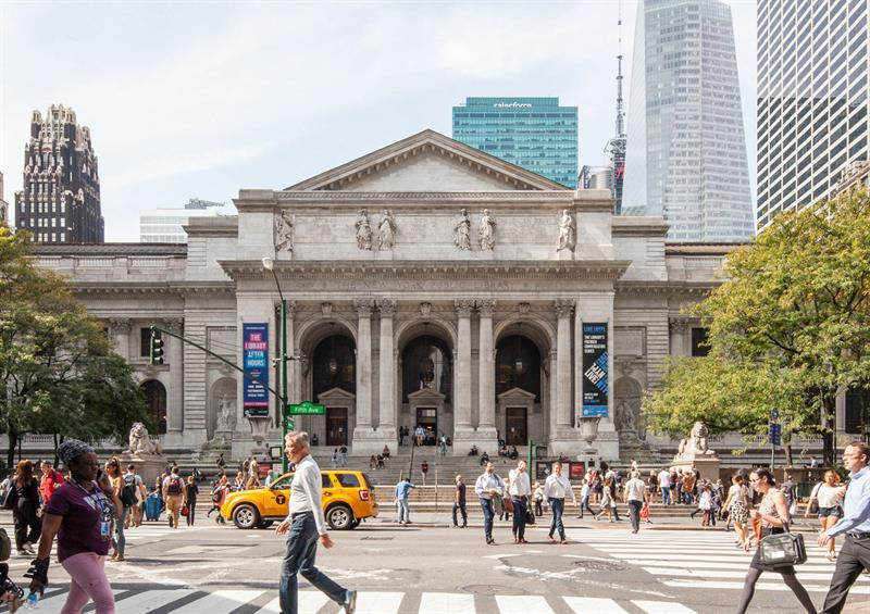 Millionaire investment from New York to renovate its most famous library